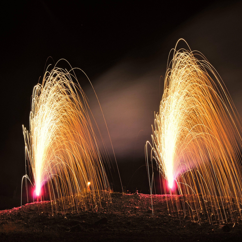 Lautloses Feuerwerk
